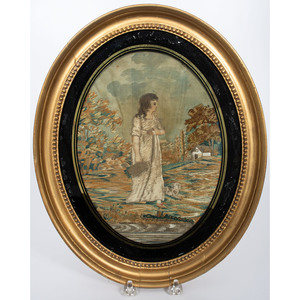 English Needlework of a Shepherdess