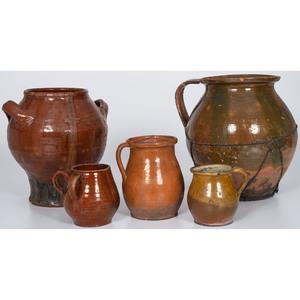 Redware Vessels