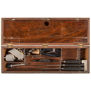 Late Nineteenth Century Medical Kit Containing H.G. Kern and Tafel Bros Instruments