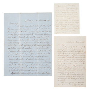 War Date CSA Letter Archive of Tennessee Senator Joseph Brown Heiskell