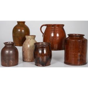 Redware Jars