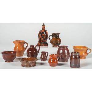 Miniature Redware Vessels
