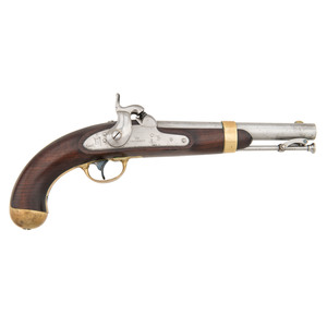 Model 1842 I.N. Johnson Single-Shot Martial Pistol