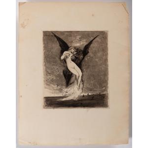 Joseph Apoux (French, 1846-1910), Reveries Fantastiques