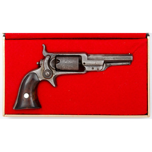 Colt Model 1855 Root Sidehammer Revolver in Contemporary Fitted Case