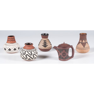 American Indian-style Art Pottery
