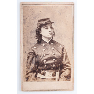Union Spy Pauline Cushman, Civil War CDV