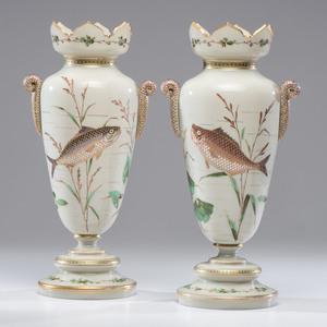 Aesthetic Bristol Glass Vases
