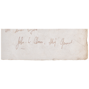 Johnny Clem CDV with Clipped Signature as Major General