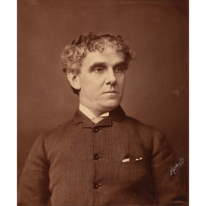 Edwin Booth, Brother of John Wilkes Booth, & Lawrence Barrett, Large Format Photographs by Gutekunst
