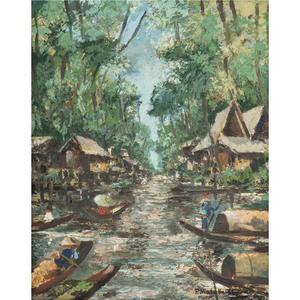 M L Poum Malakoul (Thai-French, 1910-1973)