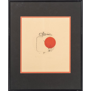 Abstract Prints Signed Taeko