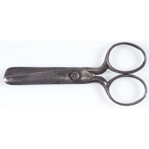 Vintage Scissors Containing Abraham Lincoln Stanhope