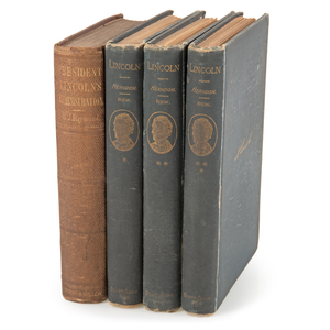Abraham Lincoln, Rare Books Related to his Life and Political Career