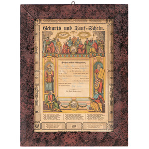 Pennsylvania German Fraktur by Lutz and Scheffer