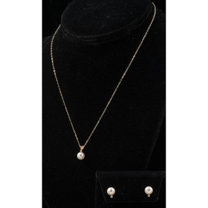 Cultured Pearl Jewelry in 14k Gold, PLUS