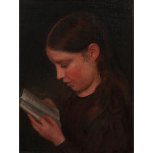 Richard Morrell Staigg (British, 1817-1881) Oil on Canvas
