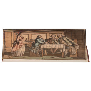 Fore-edge Painting, Boswell's Life of Johnson