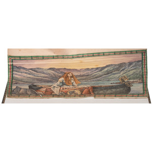 Fore-edge Painting, Lady of the Lake