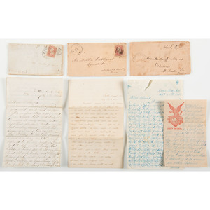 Civil War Correspondence Between Arkansas and Iowa Soldiers and a Female Friend from Home