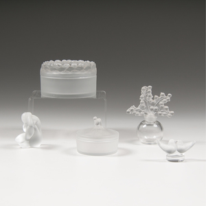 Lalique Crystal Pieces