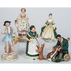 Royal Doulton Porcelain Figurines, Plus