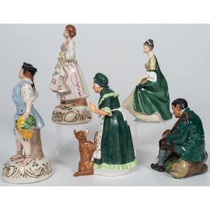 Royal Doulton Porcelain Figurines, Plus
