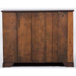 English Mahogany and Pine Spice Cabinet