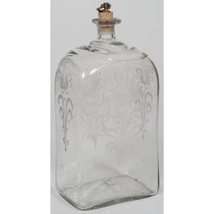 Stiegel-style Glass Decanter