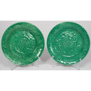 Wedgwood Grape Leaf Plates