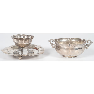 Mexican Silver Bowls with Colonial Hallmarks