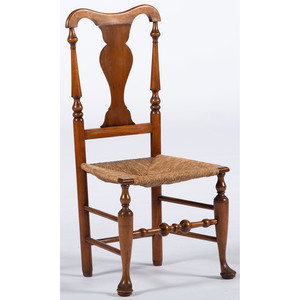 Delaware Valley Queen Anne Side Chair