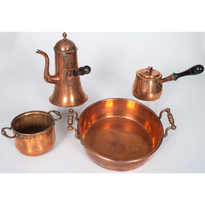 English Copper Vessels