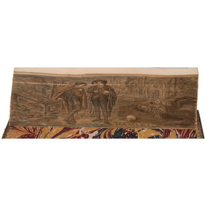 [Fore-edge Paintings] The Works of William Shakspeare