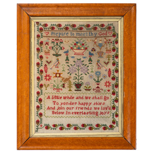 English Sampler by Margaret Gould