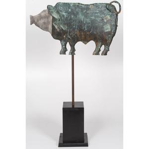 Pig Weathervane by Wayne Ayers