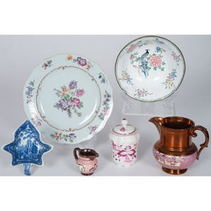 Copper Lustreware, Chinese Export and Other Tableware