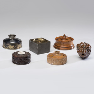 Inkwells and Desk Accessories