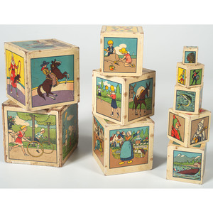 Lithographed Blocks, Two Sets