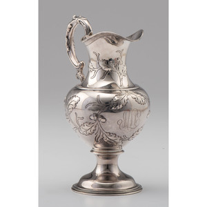 Gorham Sterling Pitcher, Retailed by Mermod & Jaccard's