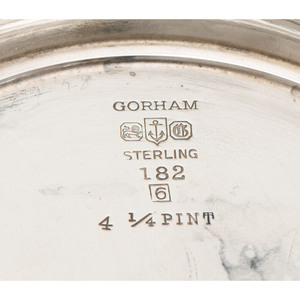 Gorham Sterling Water Pitcher