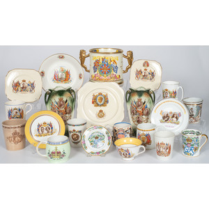English Coronation and Commemorative China