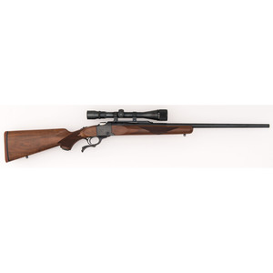 * Ruger No. 1 Rifle with Scope