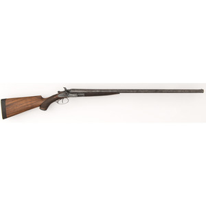 G.E. Lewis Double Hammer Shotgun