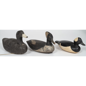 Painted Duck Decoys