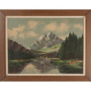 Contiental School, Mountain Landscape