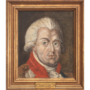 American School, Portrait of Revolutionary War Hessian General Wilhelm Von Knyphausen (1716-1800)