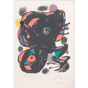 Joan Miro (Spanish, 1893-1983)