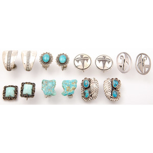 Navajo and Southwestern Earrings