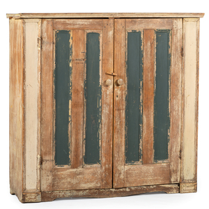Canadian Painted Cupboard